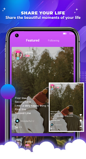OyeTalk - Live Voice Chat Room android2mod screenshots 1