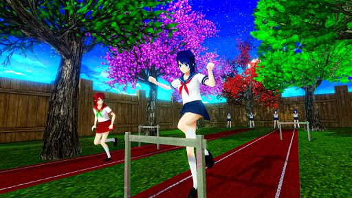 Anime High School Life Days Yandere Girl Simulator screenshots 5