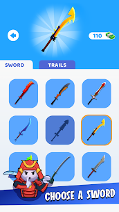 Free Sword Play! Ninja Slice Runner 4