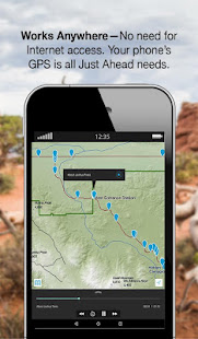 Just Ahead: Audio Tour Guides