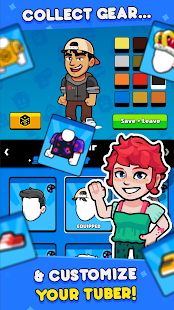 Idle Tuber - Become the world's biggest Influencer Screenshot