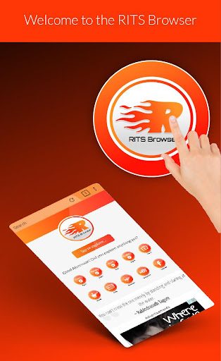 RITS Browser- Fast, Safe & Smart mobile Browser modavailable screenshots 16