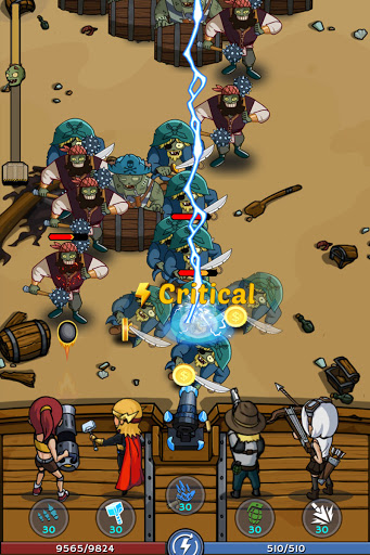 Zombie War: Idle Defense Game 20 screenshots 24
