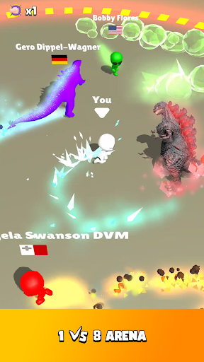 Fire Arena - King of Monsters apkdebit screenshots 8