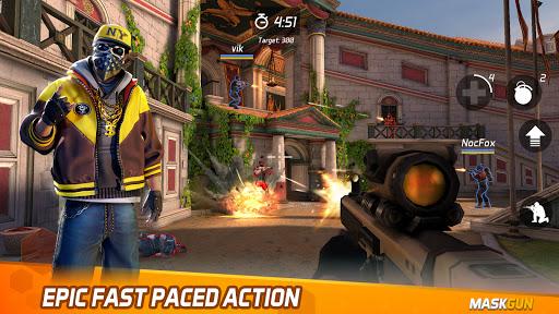 MaskGun Multiplayer FPS - Shooting Gun Games  screenshots 1
