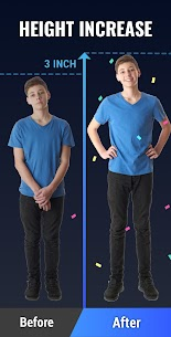 Height Increase – Increase Height Workout, Taller MOD APK V1.0.16 – (Ads-Free) 2