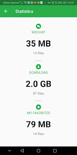 Download manager for Wechat
