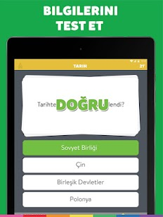 Trivia Crack Türkçe Screenshot