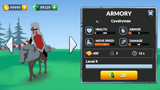 Age of Stickman Battle of Empires Mod Apk 1.0 (Inexhaustible Currency) 2