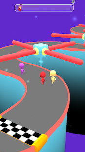 Race 3D - Cool Relaxing endless running game Screenshot