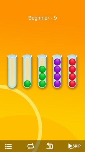 Ball Sort - Bubble Sort Puzzle Game screenshots 4