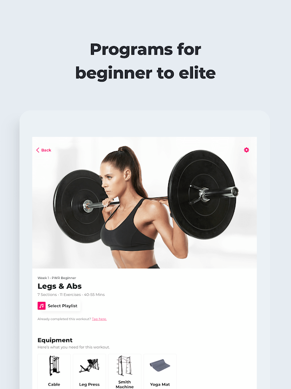 SWEAT: Fitness App For Women  poster 11