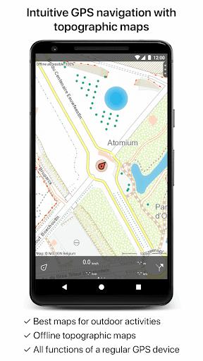 Topo GPS Belgium 5.7.0 screenshots 1