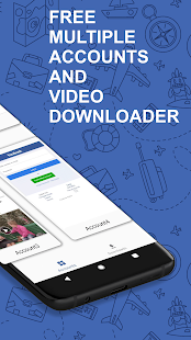 Multi Face - Video Downloader & Multiple Accounts