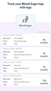 Blood Sugar Log – Diabetes Tracker v1.13 [Pro] [Mod] 4