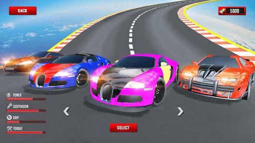 Mega Ramp Car Stunts Racing : Impossible Tracks 3D screenshots 5