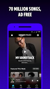 Amazon Music: Stream and Discover Songs & Podcasts Screenshot