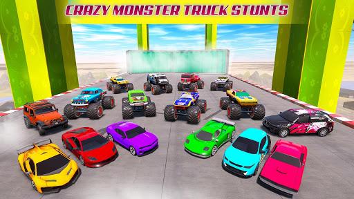 Mega Ramp Car Racing Stunts 3D - Impossible Tracks 1.2.9 Screenshots 4