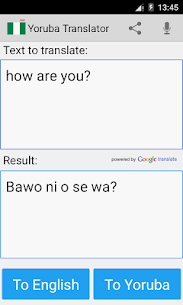 Yoruba English Translator 20.9 APK Mod for Android 1