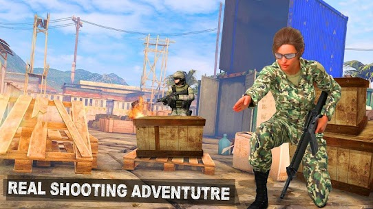 Modern Girl Commando: Free FPS Shooting Adventure Online Hack Android & iOS 4