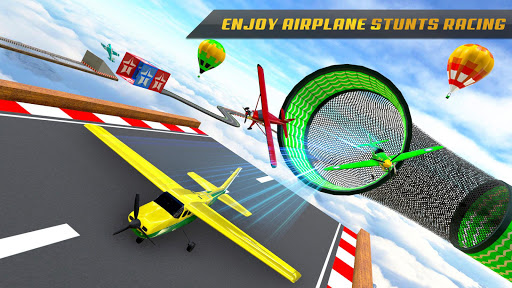Plane Stunts 3D : Impossible Tracks Stunt Games apkmr screenshots 3