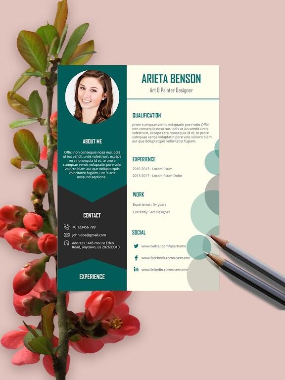 Resume Template, Resume Writer & Cover Letter  poster 5