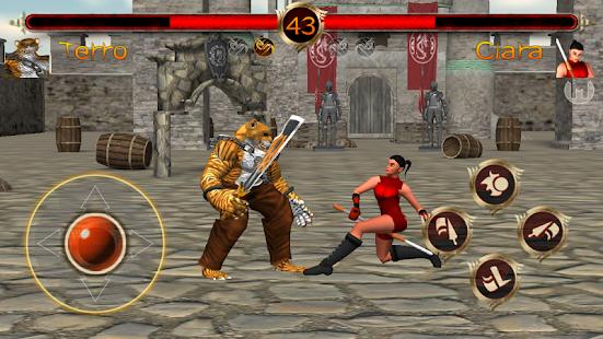 Terra Fighter 2 - Fighting Games screenshots 2