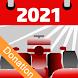 Racing Calendar 2021 - Donation