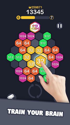 2048 Hexagon Match 1.0.4 screenshots 3