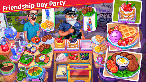 Cooking Party : Cooking Star Chef Cooking Games 1.8.3 screenshots 2