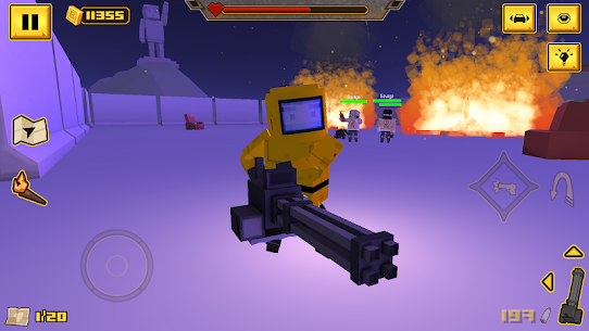BLOCKAPOLYPSE – Zombie Shooter Mod Apk (God Mode) 6