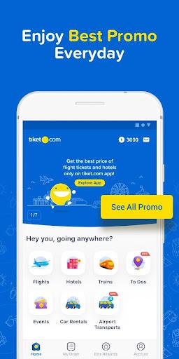 tiket.com - Hotels, Flights, To Dos 4.4.1 screenshots 1