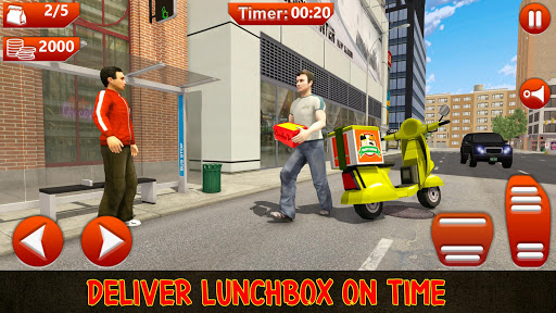 Moto Bike Pizza Delivery Games 2021: Food Cooking 1.12 screenshots 2