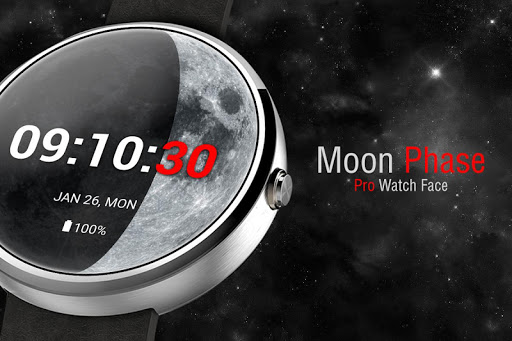 Moon Phase PRO - Watch Face For PC Windows (7, 8, 10, 10X) & Mac Computer Image Number- 5