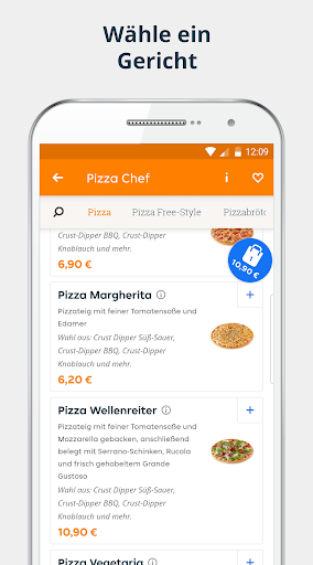 pizza.de | Food Delivery 6.20.0 screenshots 2