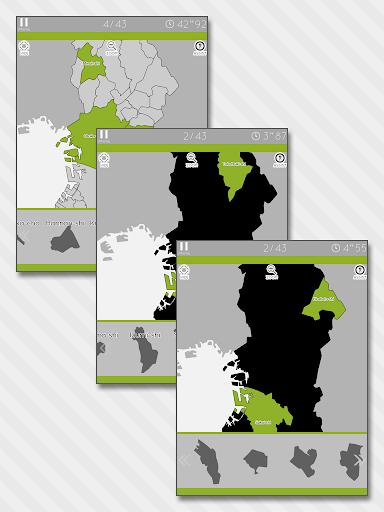 Enjoy Learning Osaka Map Puzzle 3.2.3 screenshots 7