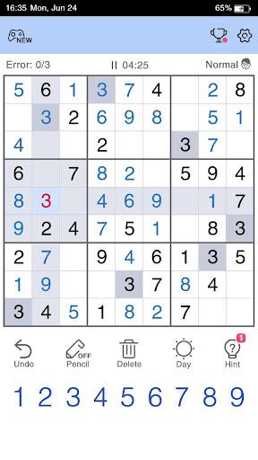 Sudoku - Free Sudoku Game 1.1.4 screenshots 3