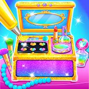 Makeup Kit Cake Maker - Glitter Baking Games