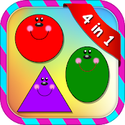 Shapes and Colors for kids 1.1.0 Icon