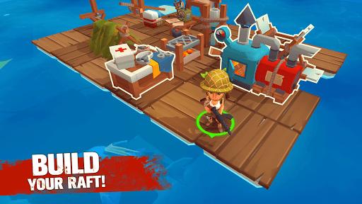 Grand Survival - Ocean Raft Adventure screenshots 1