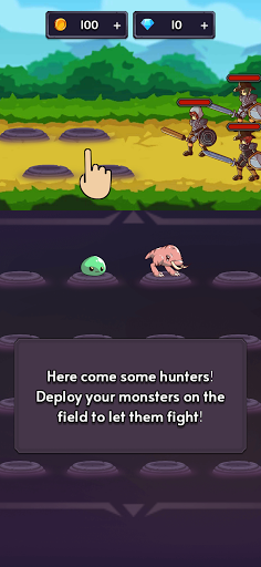 Monsters VS Hunters: Merge Idle RPG Battler  screenshots 11