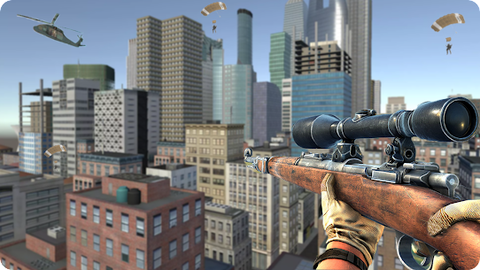 Sniper Mission 3D Mod Apk: New Assassin Games (God Mode) 4