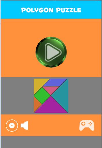 polygon puzzle game screenshot 1