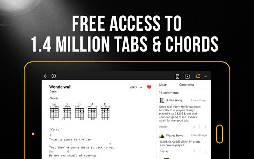 Ultimate Guitar: Tabs & Chords 6.5.7 Screenshots 6