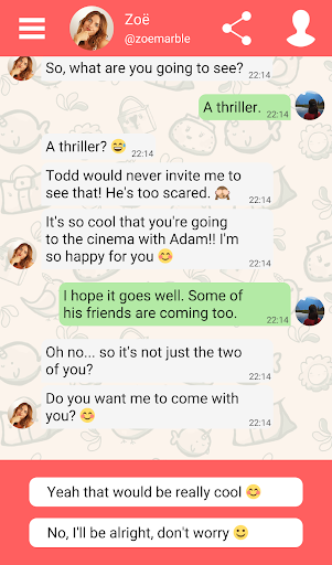 Hey Love Adam: Texting Game android2mod screenshots 17