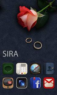 Sira GO Launcher Theme