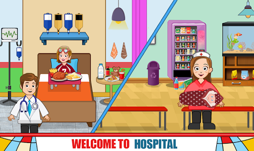 Pretend Hospital Doctor Care Games: My Town Life  screenshots 12