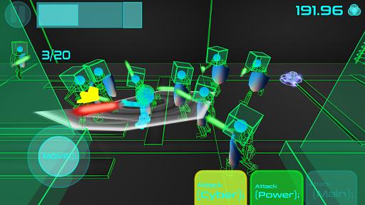 stickman neon warriors: sword fighting screenshot 3