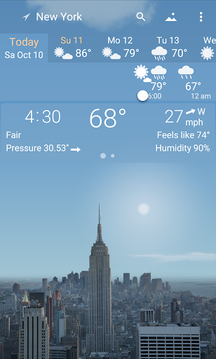 YoWindow - best weather app with live pictures 2.23.7 Screenshots 1