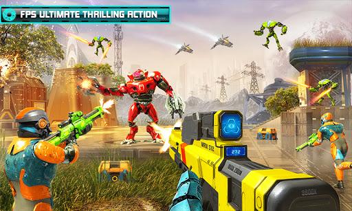 US Police Robot Counter Terrorist Shooting Games  Screenshots 3